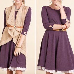 Matilda Jane queen of hearts purple dress